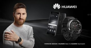 Lionel Messi & Huawei Watch 2 Porsche Design