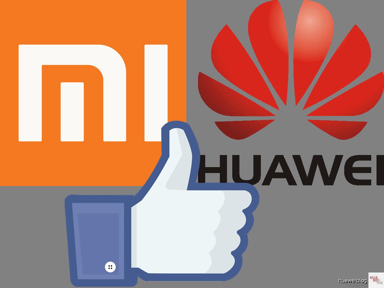 Huawei & Xiaomi beliebt