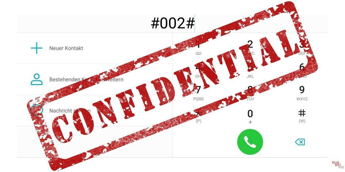 Fabulous Geheime Handy Codes - so nutzt du sie! - Huawei.Blog WW32