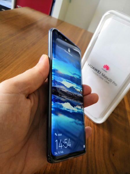 Huawei Mate 20 pro - Transparente Hülle / Case - im Test