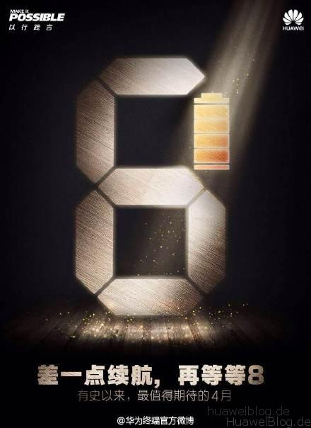 Huawei P8 Batterie / Akku