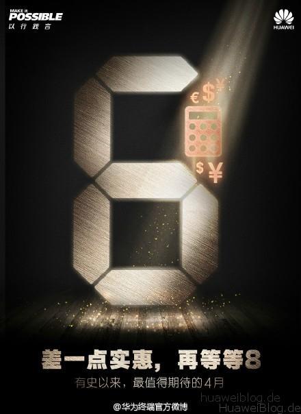Huawei P8 - Preis