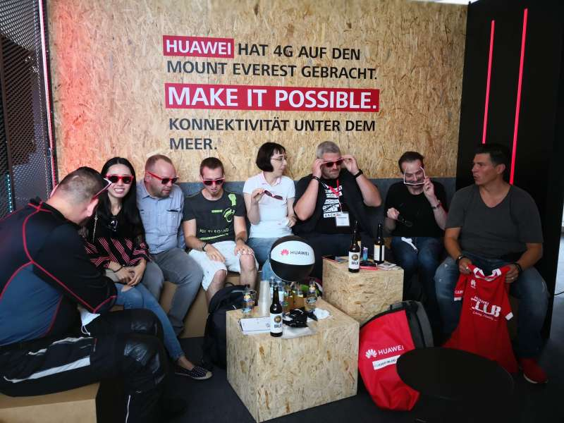 IFA 2018 HUAWEI.blog Meet & Greet