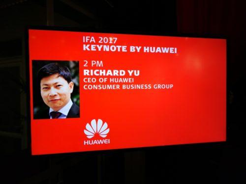 IFA 2017: Huawei Keynote
