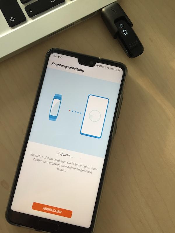 Huawei Band 3e Health App