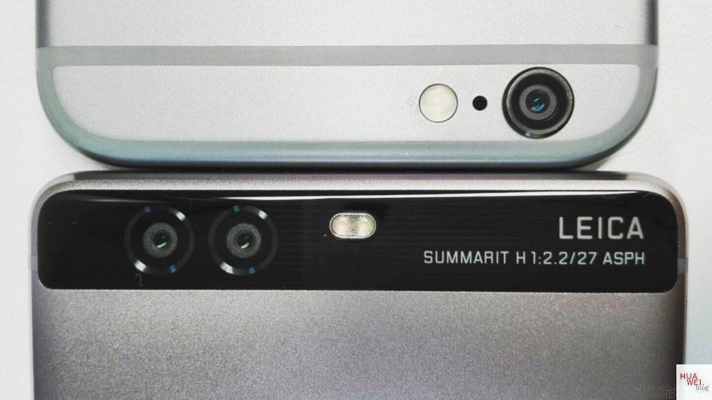 Huawei P9 - Kamera Vergleich - iPhone 6