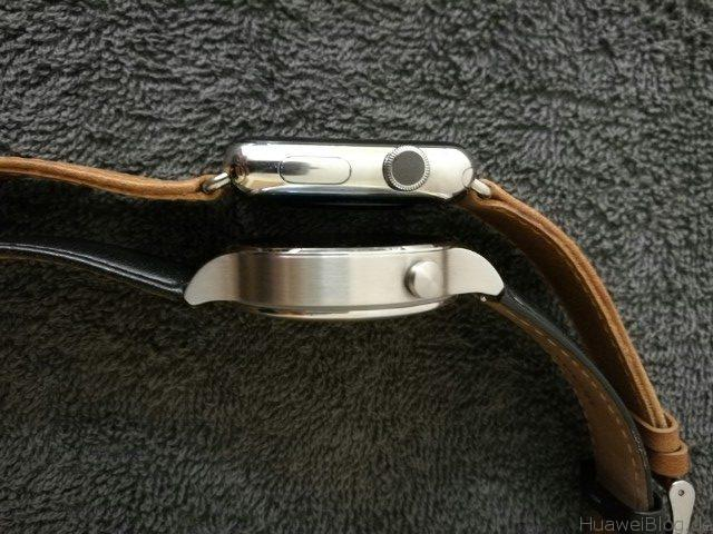 Huawei Watch vs Apple Watch r Seite