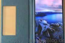 TopAce® Flip Case (Grau-schwarz) Offen 2