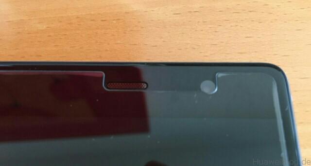Huawei P9 Plus Schutzfolien Repou Schutzglas Oben