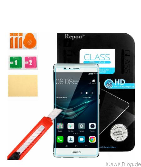 Huawei P9 Plus Schutzfolien Hartglas Repou