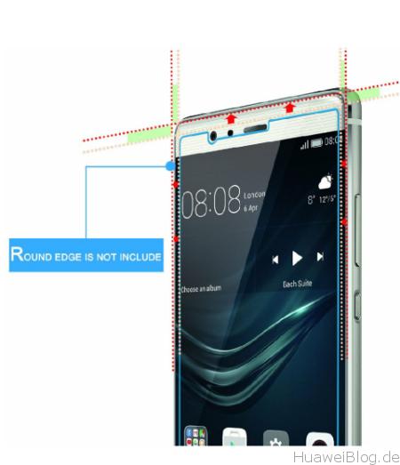 Huawei P9 Plus Schutzfolien Hartglas Repou 2