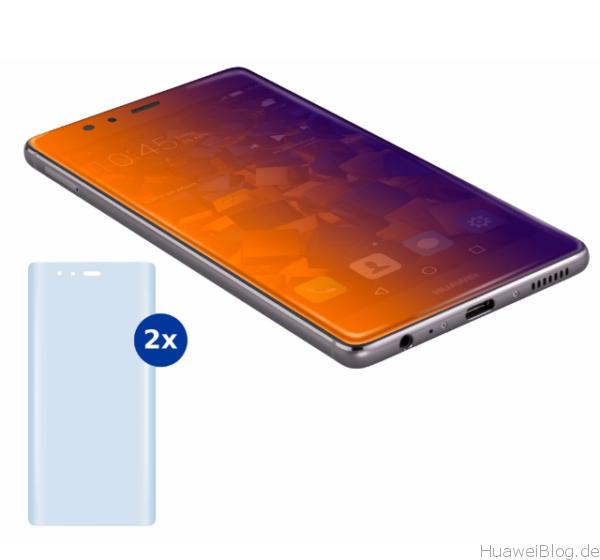 Huawei P9 Plus Schutzfolien mumbi Flex Promo