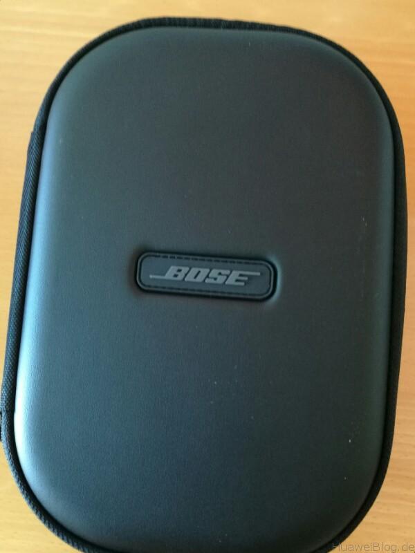 Huawei P9 Plus meets Bose QC 35 Zubehör Box 3