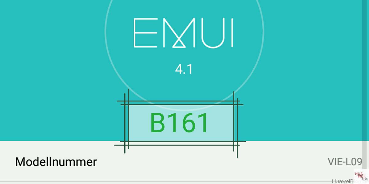 Huawei P9 Plus B161- nächstes Firmwareupdate