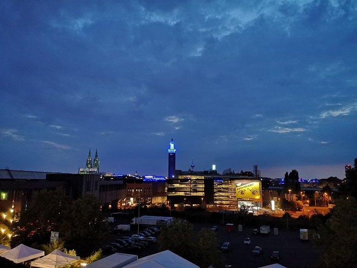 Cologne Köln bei Nacht