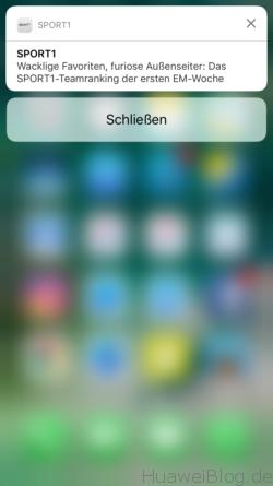 iOS mit 3D Touch