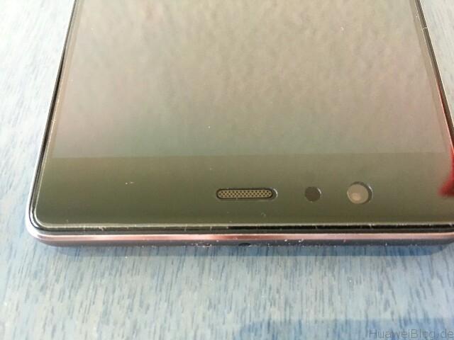 Huawei P9 Plus Schutzfolien Yootech Folie oben