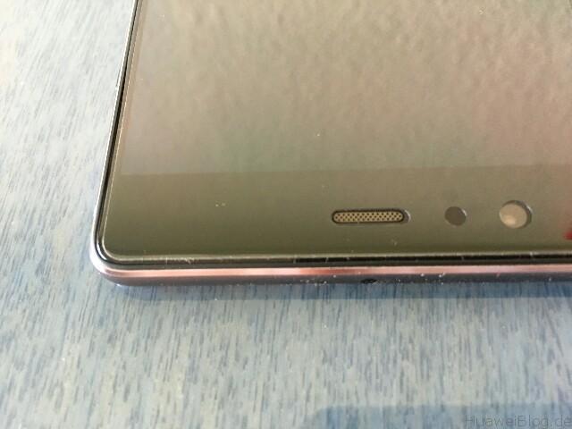 Huawei P9 Plus Schutzfolien Yootech Folie oben 2