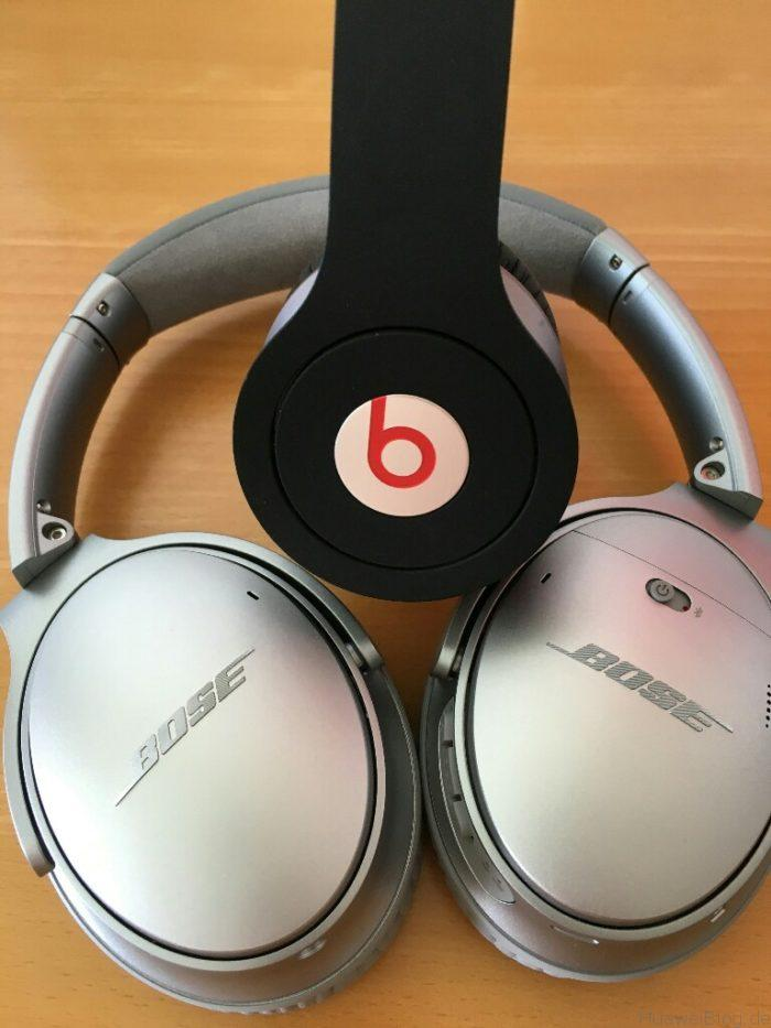 Huawei P9 Plus meets Bose QC 35 Beats