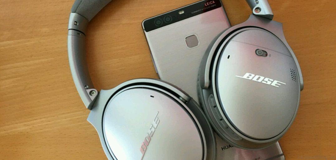 Huawei P9 Plus meets Bose Q35 3