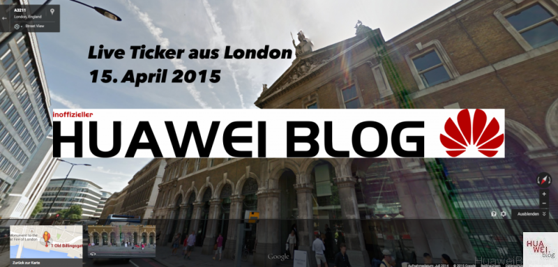 Liveticker Huawei P8 London