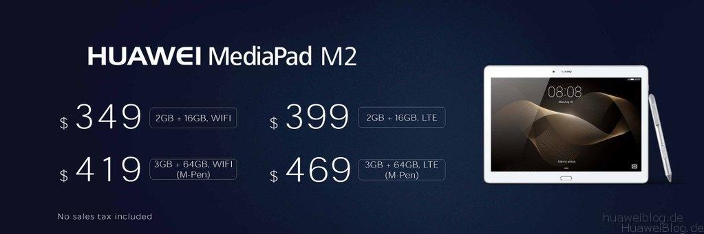 Mediapad M2 10.0 Preis