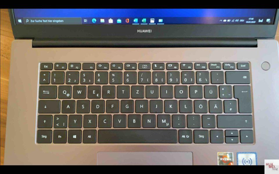 HUAWEI Matebook D15 Test - groß, gut und günstig 6