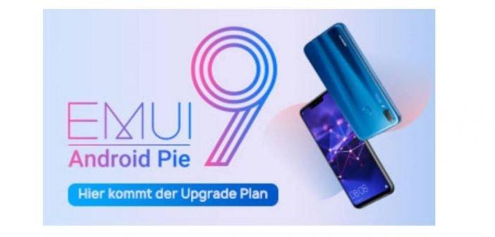 Mate 20 Lite P20 Lite Android 9 EMUI 9 Update