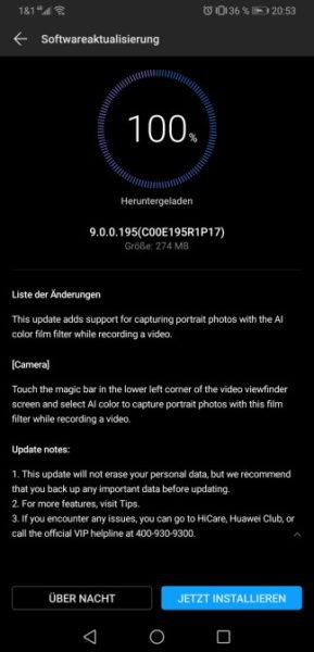 Kamera-Update