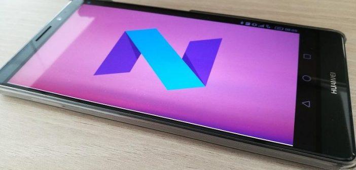 Android Nougat auf dem Mate 8 gesichtet