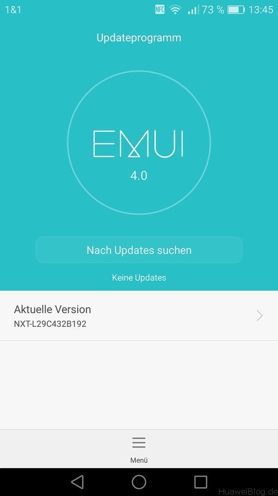 Mate 8 Rollback EMUI 4.1 auf EMUI 4.0