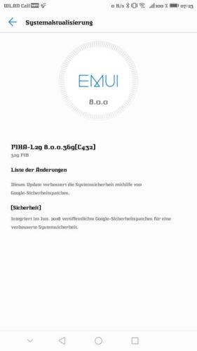 Mate 9 Update B369