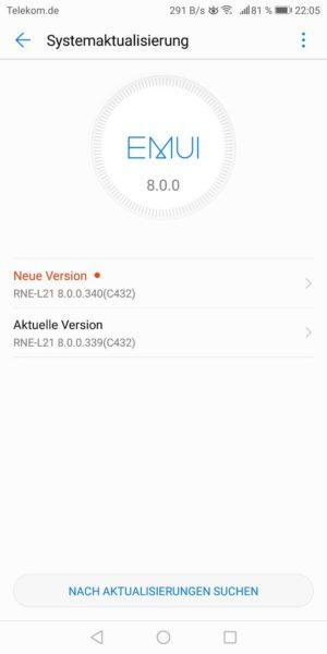März Updates für Mate 10 lite und P10 (Vodafone) 2