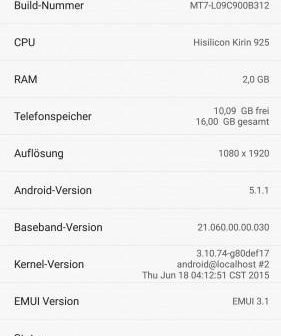 Mate 7 Beta Firmware B312