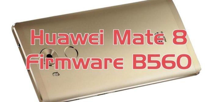 Huawei Mate 8 – offizielles Android 7 Nougat Update B560 erschienen