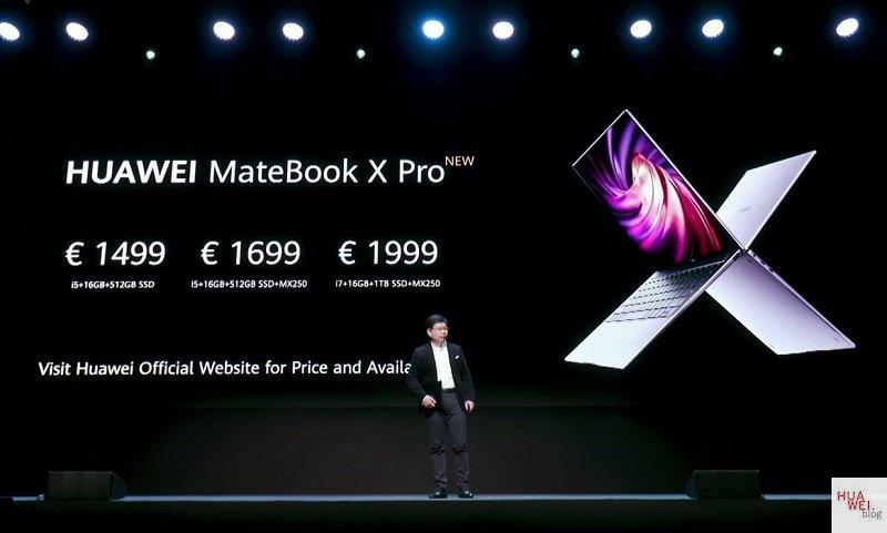 MateBook X Pro New