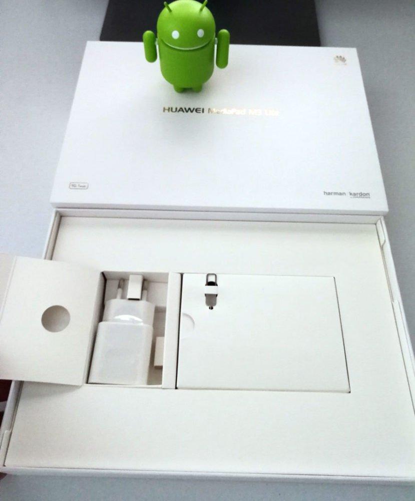 MediaPad M3 Lite 10 Box-Inhalte