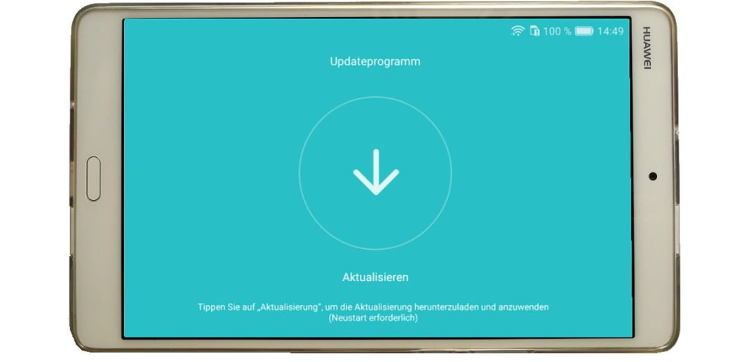 Mediapad M B302 - Titelbild