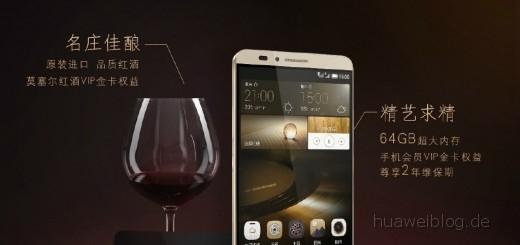 Huawei Mate 7 Gold Monarch
