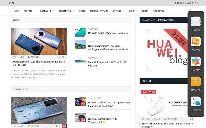HUAWEI MatePad Pro Multitasking