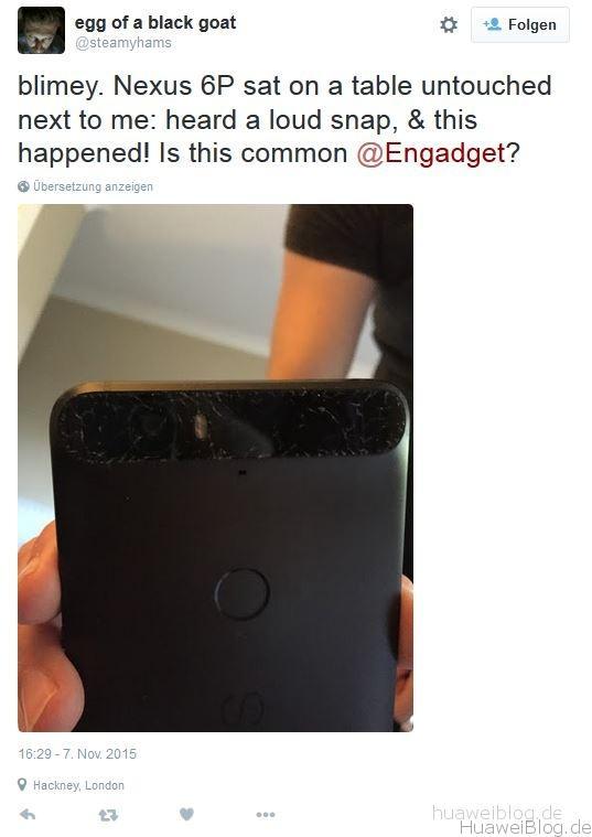 Huawei Nexus 6P Glas