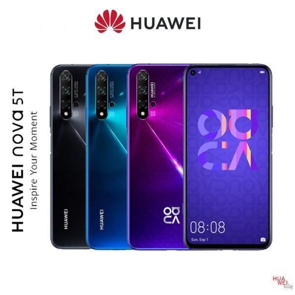 Farben vom Huawei Nova 5T