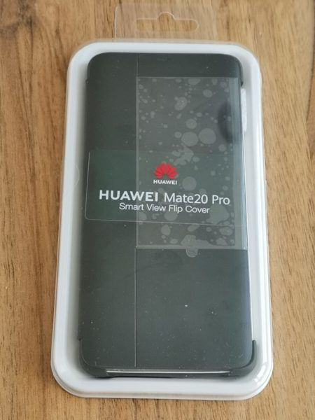 Original HUAWEI Flipcase im Test - Mate 20 pro 11