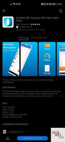 Outbank Banking AppGallery