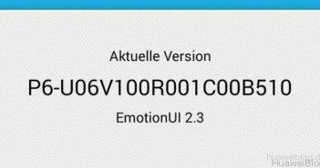 Huawei Ascend P6 Update