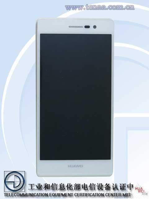 Huawei Ascend P7 front