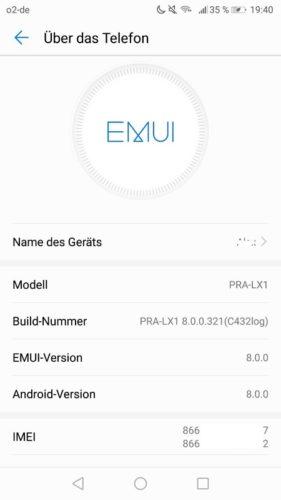 P8 Lite 2017 Android Oreo Beta