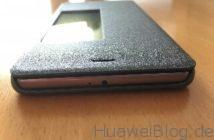 TopAce® Flip Case (Grau-schwarz) Oben