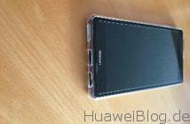 EasyAcc Huawei P9 Plus Cover Transparente TPU Crystal Clear Unten