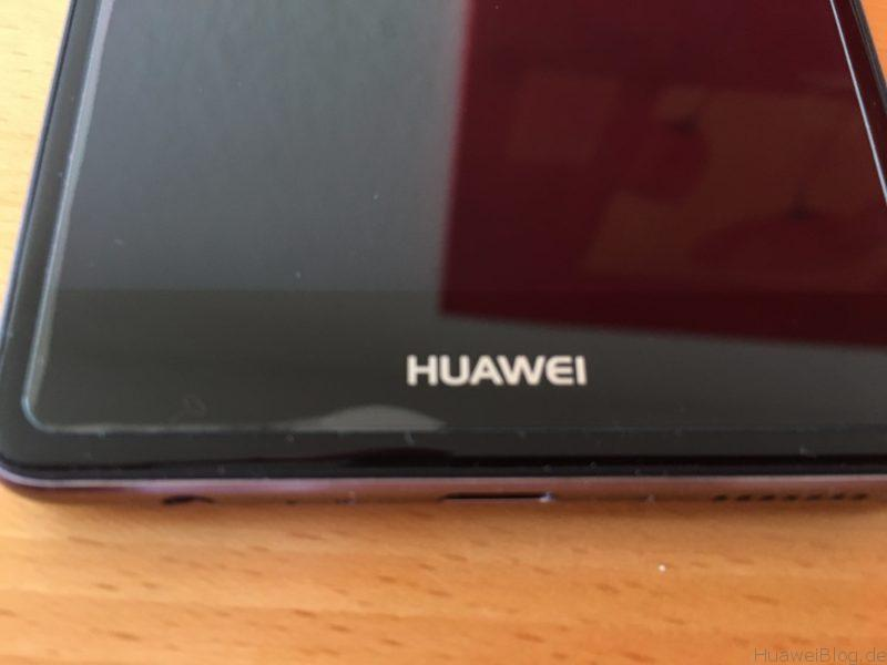 Huawei P9 Plus Schutzfolien Repou Schutzglas Luft unten